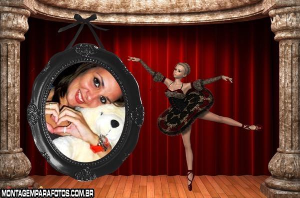 Moldura de Bailarina