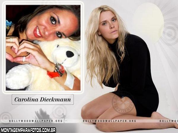 Moldura Carolina Dieckmann