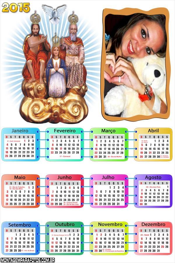 Calendário 2015 Divino Pai Eterno