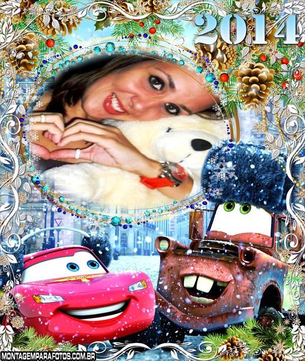 Carros no Natal Calendário 2014