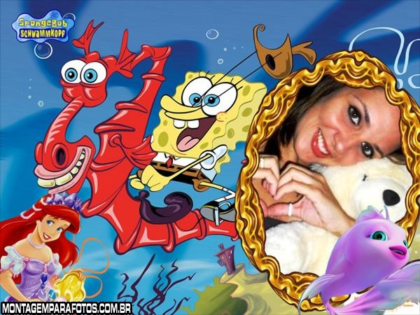 Bob Esponja no Fundo do Mar