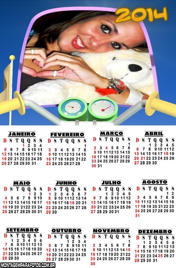 Montagem de Calendário 2014