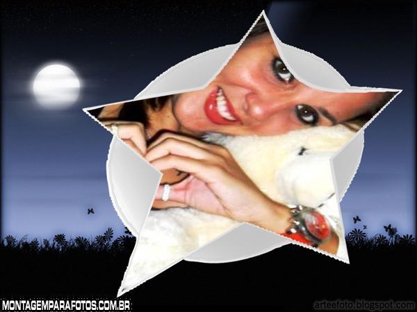 Moldura Estrela da Noite