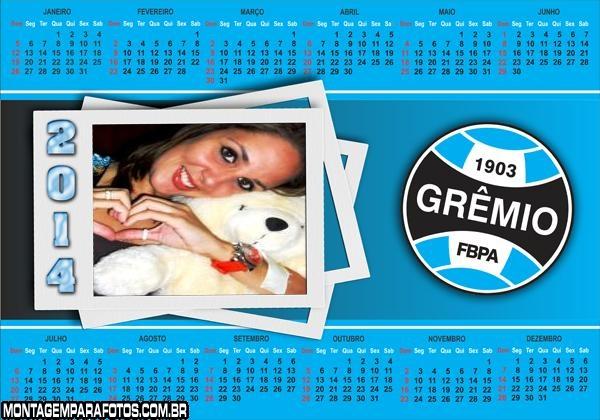 Calendário 2014 do Grêmio