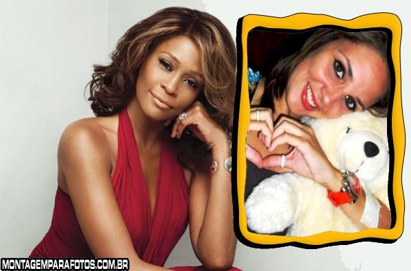 Moldura Whitney Houston