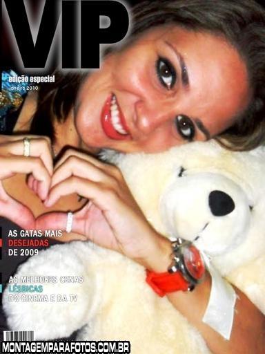 Capa de Revista VIP Moldura