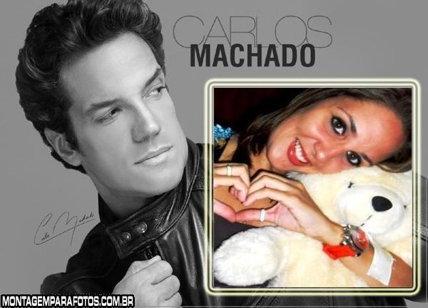 Moldura Carlos Machado