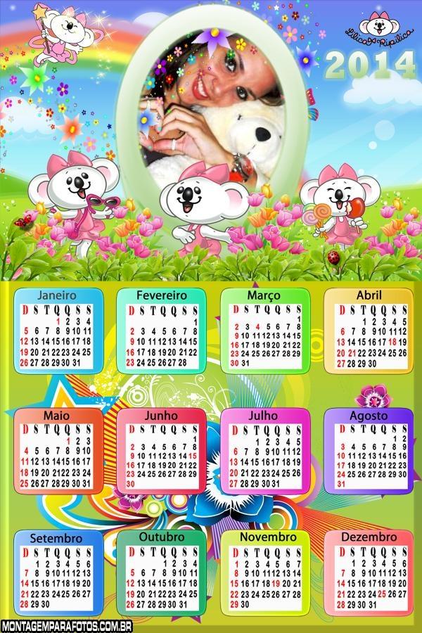 Emoldurar Calendário 2014