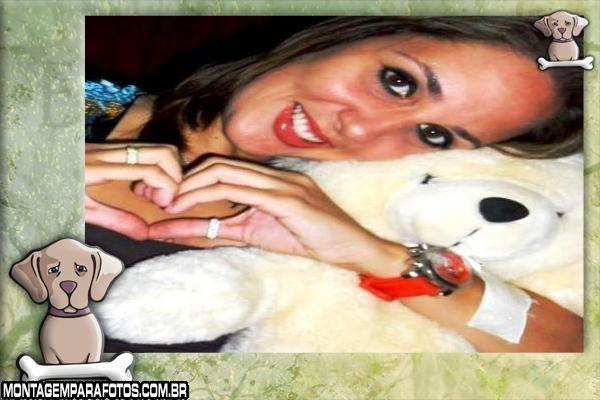 Moldura Cachorrinho com Osso