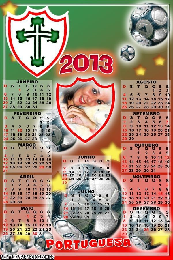 Calendário Portuguesa 2013