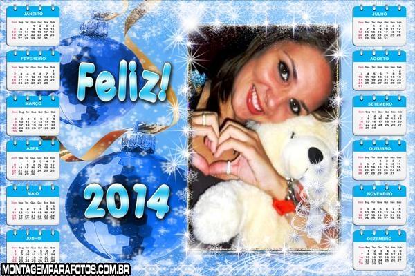 Calendário Feliz 2014