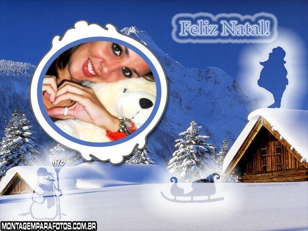 Natal no Campo e muita neve