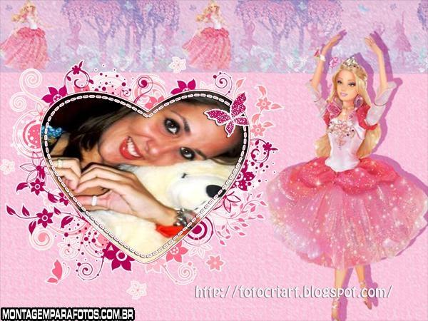 Moldura Barbie Bailarina
