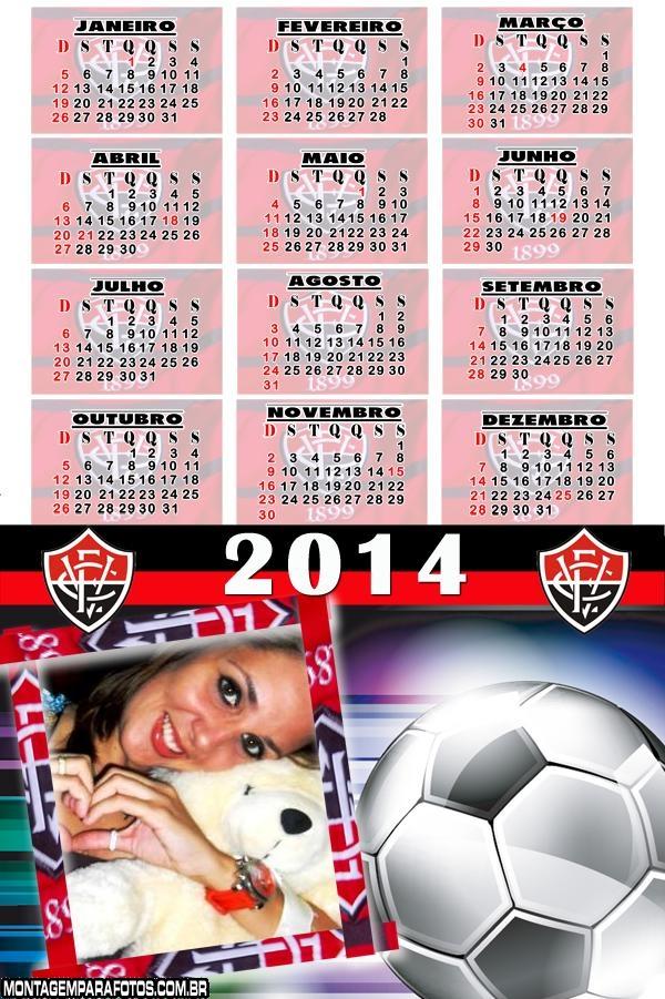 Calendário 2014 Time Vitória