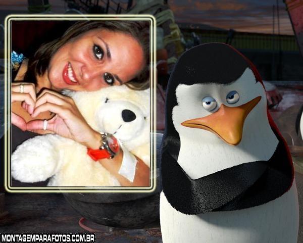 Moldura Pinguim Madagascar 3