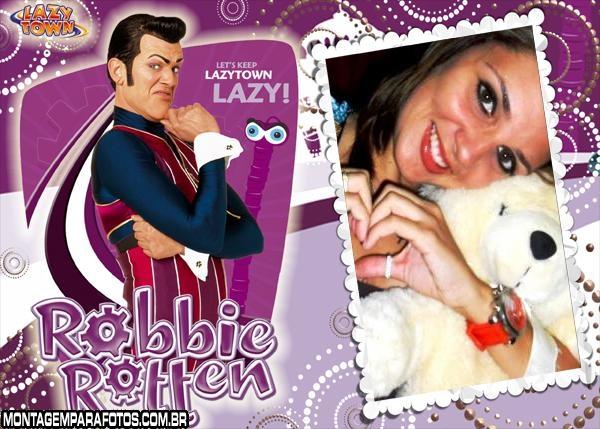 Moldura Robbie Rotten