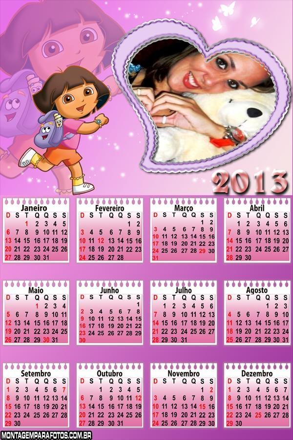 Calendário Escolar Dora 2013