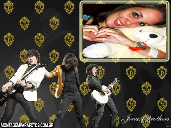 Moldura Banda Jonas Brothers