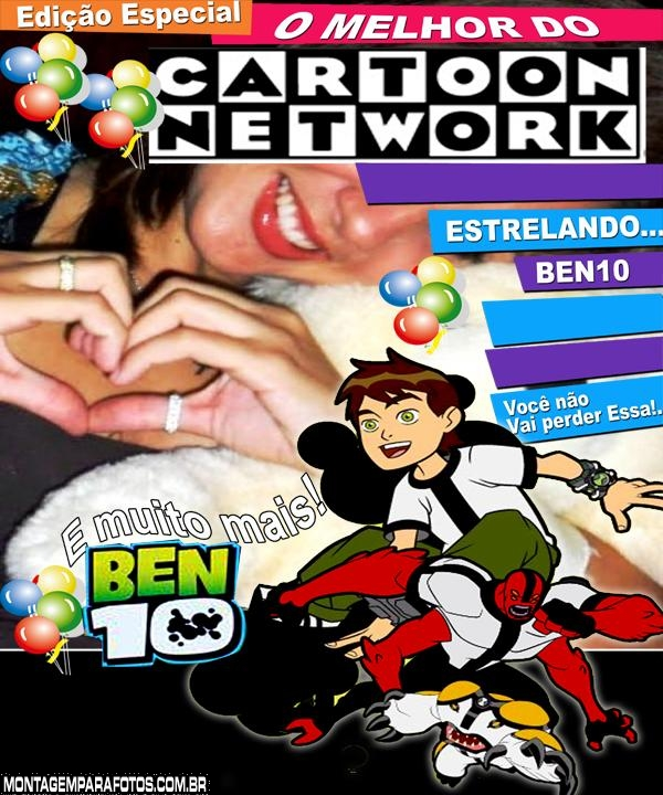 Convite Cartoon Network Ben 10