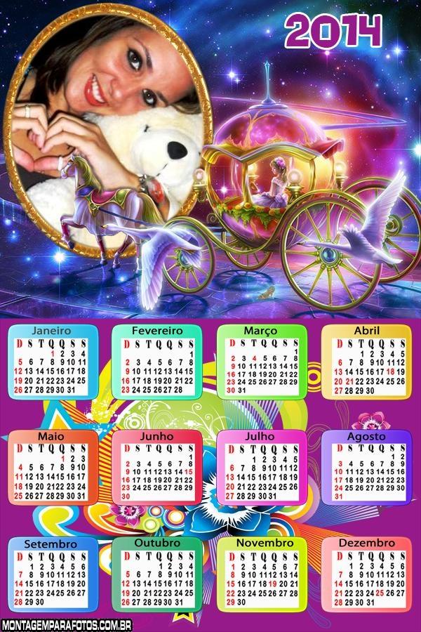 Calendário 2014 de Carruagem