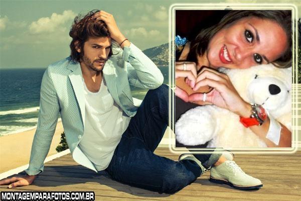 Ashton Kutcher Ator FotoMoldura