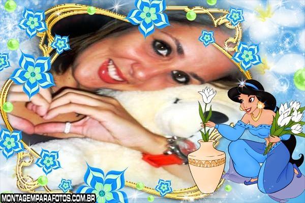 Moldura Flores de Jasmine