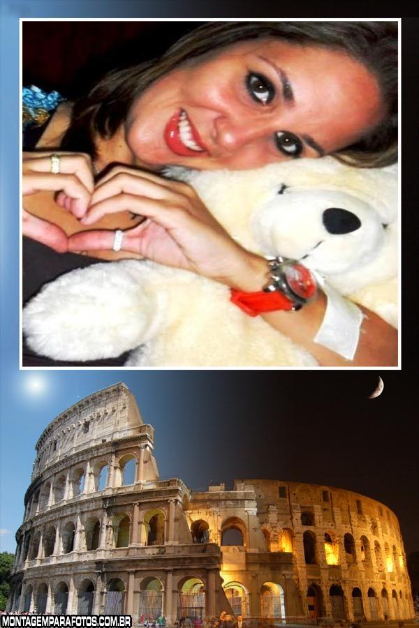 Moldura Coliseu de Roma