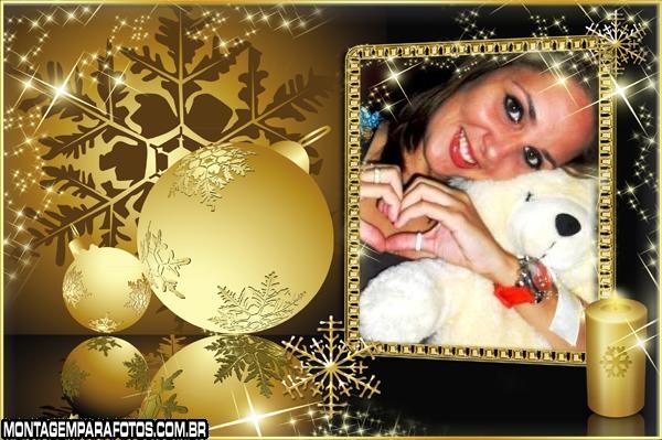 Moldura Feliz Natal Amigos