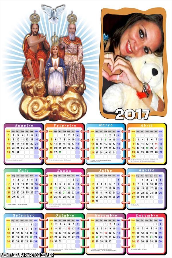 Calendário 2017 Divino Pai Eterno