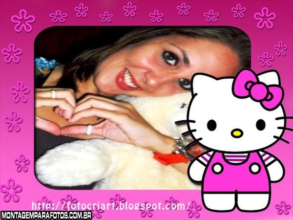 Hello Kitty Cor de Rosa Chiclete