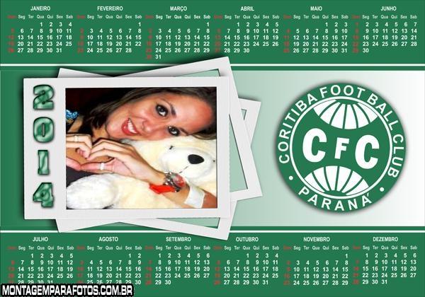 Calendário 2014 Coritiba