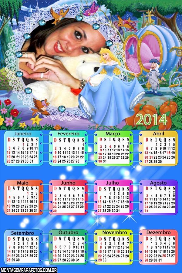 Calendário Alice País Maravilha