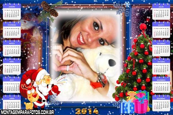 Papai Noel Feliz no Natal 2014