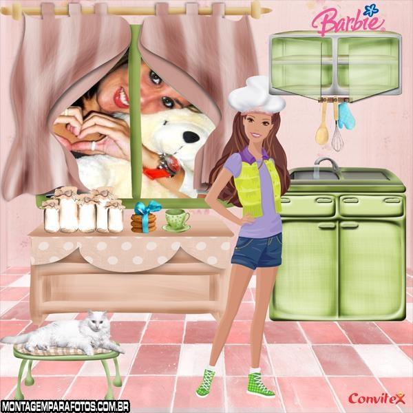 Moldura Barbie Kitchen