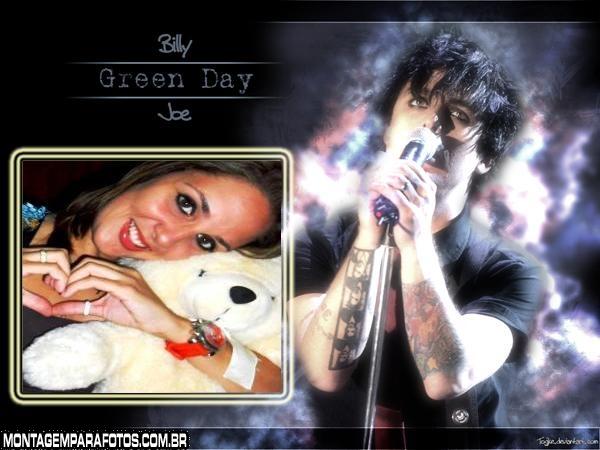 Moldura Billie Joe Green Day