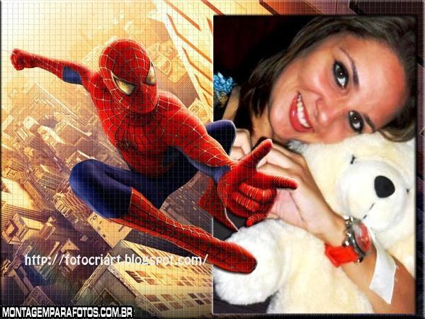 Foto Montagem do SpiderMan
