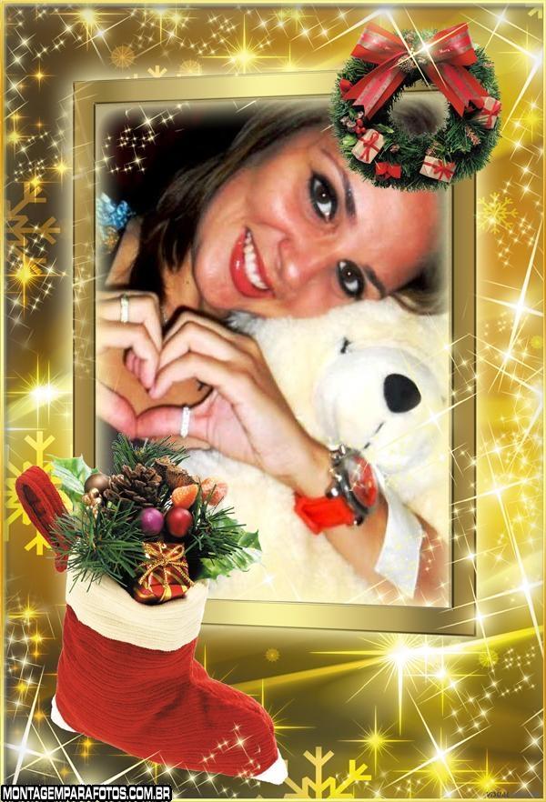 Moldura Meia de Natal