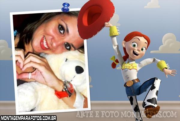 Moldura Jessie Toy Story