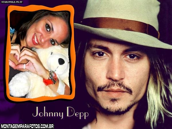 Johnny Depp FotoMoldura