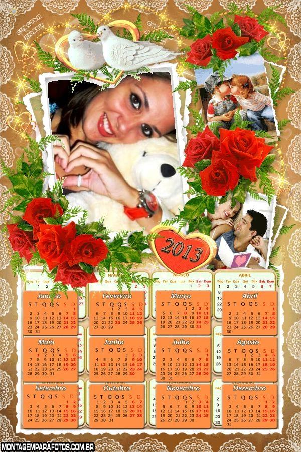 Calendário 2013 de Namorados