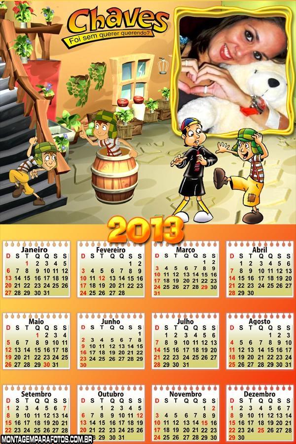 Calendário Chaves 2013