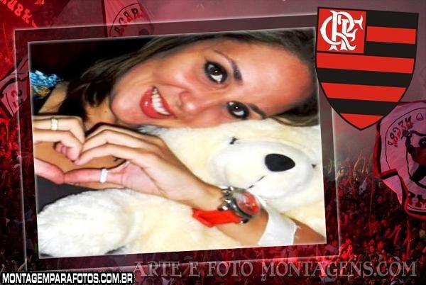 Torcida do Flamengo Moldura