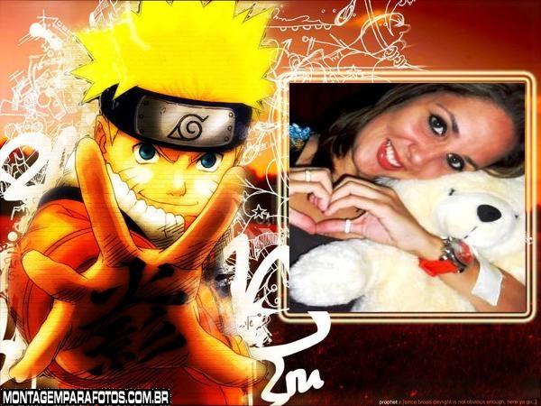 Moldura Naruto
