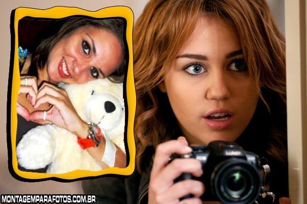 Moldura Foto Miley Cyrus