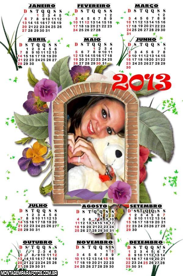 Calendário Janela 2013