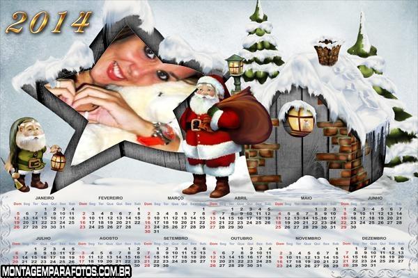 Casinha do Noel 2014
