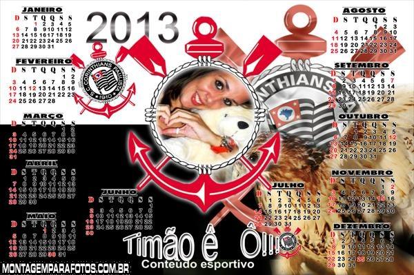 Calendário Corinthians 2013