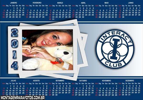 Calendário 2014 Interact