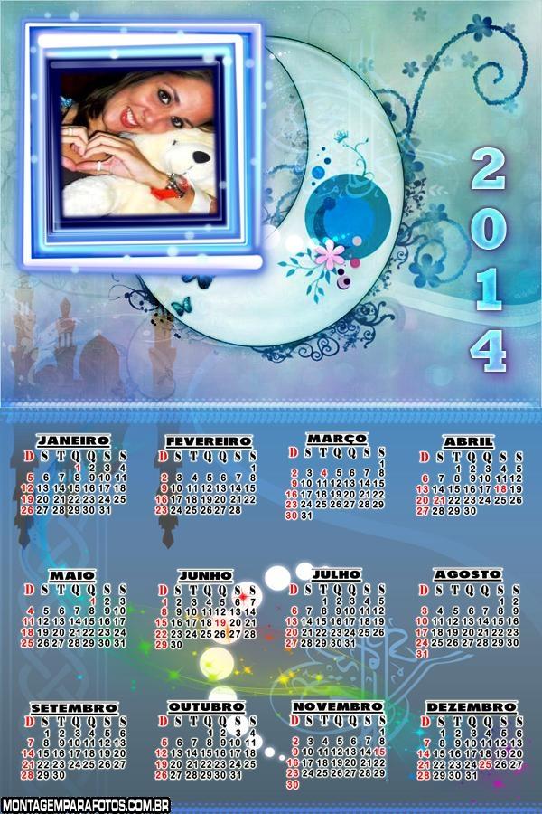 Molduras de Calendários 2014