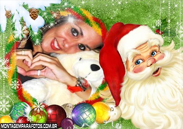 Bolinhas de Natal e Papai Noel